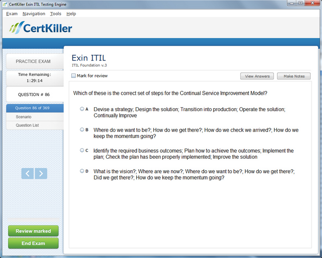 Latest Itilf Exam Questions Exin Training For Itil Foundation