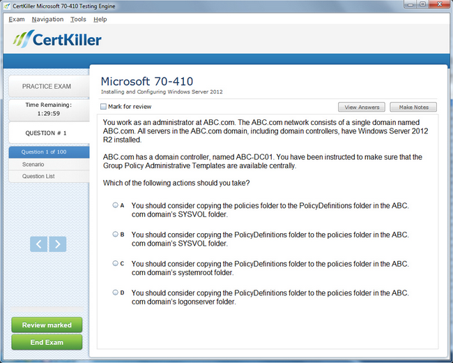 Latest 70 410 Exam Questions Full Microsoft Training For