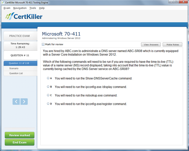 Latest 70 411 Exam Questions Microsoft Training For Mcsa Certification