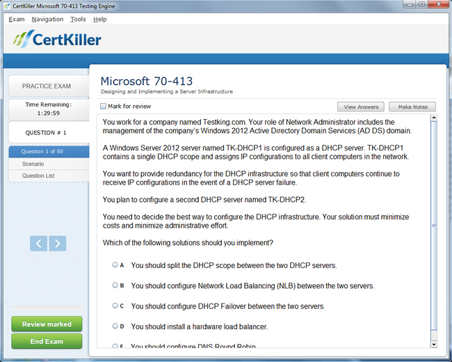 Latest 70 413 Exam Questions Microsoft Training For Mcse Certification