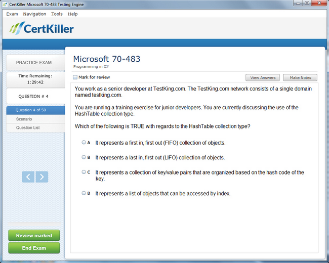 Latest 70 483 Exam Questions Microsoft Training For Mcsd Certification