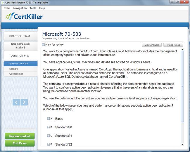 azure certification 70 533 pdf