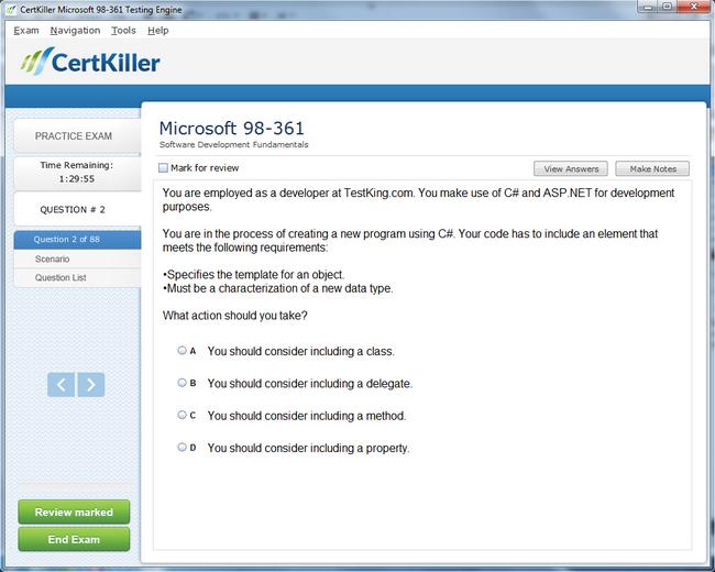 Get Microsoft Mta Developer Certification Mta Developer Practice